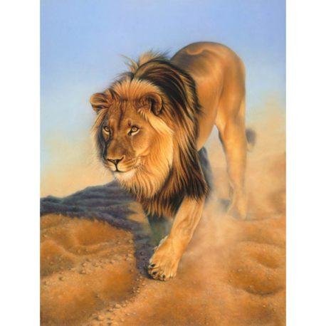 Namibian-Lion-print